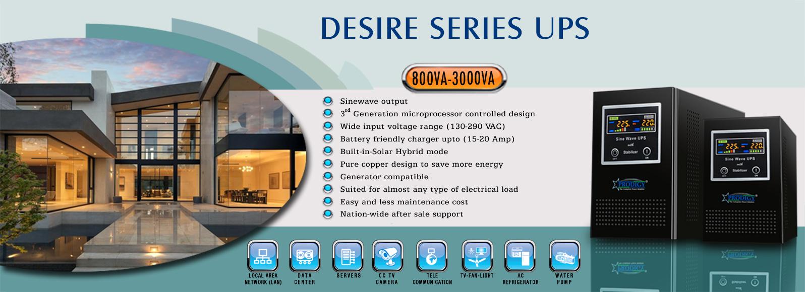 Desire Series UPS
