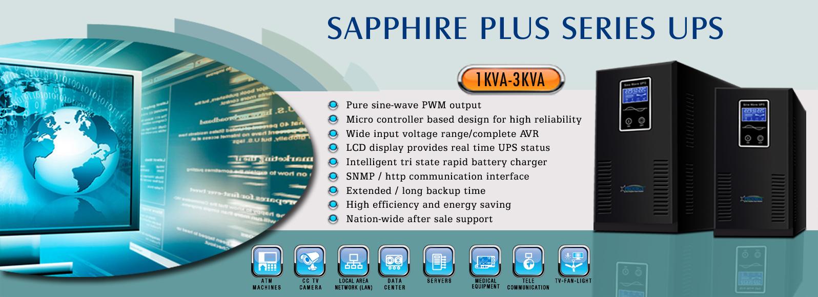 Sapphire Plus Series UPS