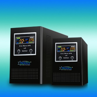 Pure Sine Wave with AVR UPS 800VA-8KVA